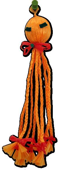 Raffia Octopus 70s