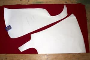Pattern Tutorial Racerback Swing Singlet, Pattern and tutorial to sew a racerback swing singlet